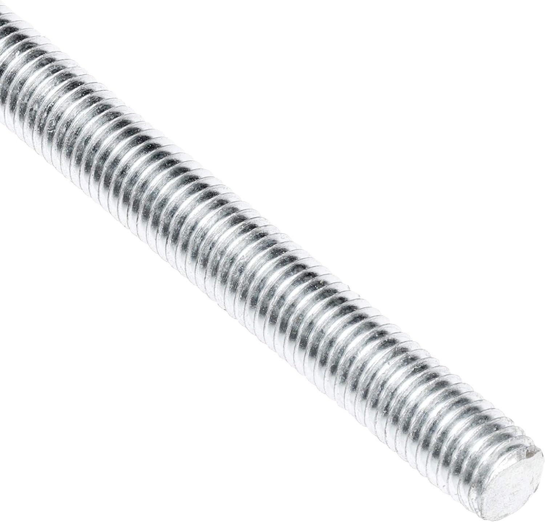 Carbon Steel 1//2-10x6 ft Threaded Rod