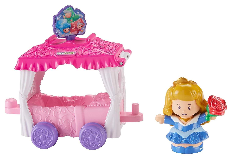 Fisher-Price FRT28 Little People Disney Princess Parade Aurora & Fairy Godmothers' Float Mattel