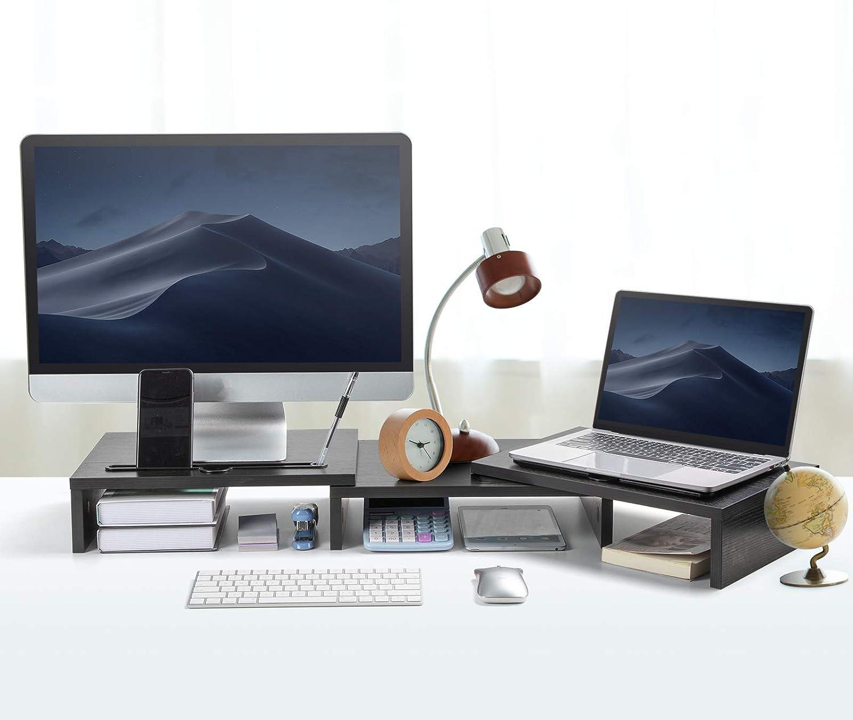 Soporte de madera para 2 monitores por sólo 16,99€ ¡¡35% de descuento!!