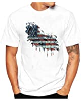 Hanes Men's Graphic T-Shirt - Americana Collection | Amazon.com
