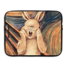 CHERINA RHEA Laptop Case Sleeve Bag Rabbit Creative Paintng 13-15 Inch For IPad Air Macbook Pro Surface Book Notebook Ultrabook