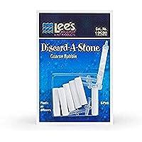 Lee's Pet Products ALE12521 6-Pack Discard a Stone Disposable Air Diffuser for Aquarium Pump, Fine