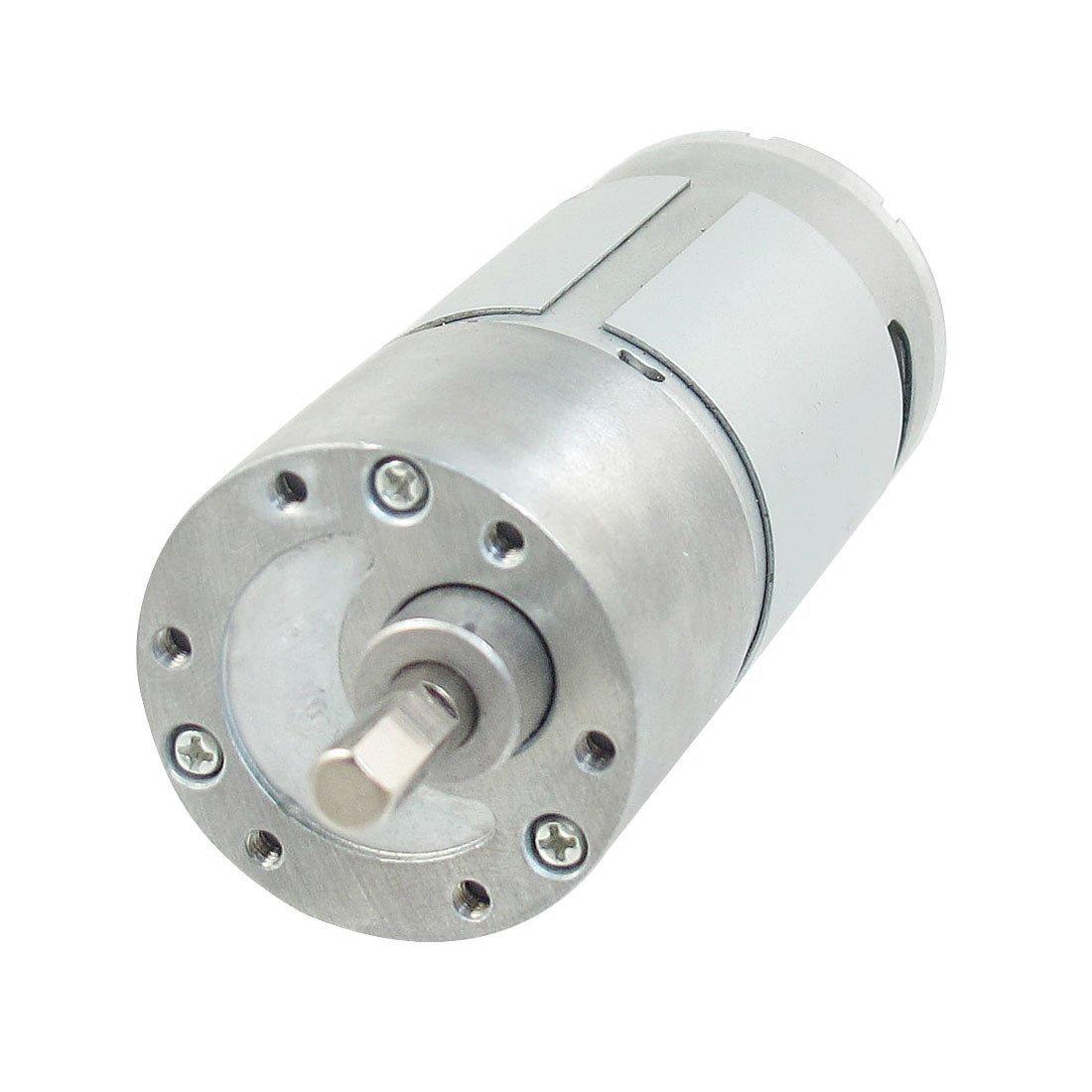 eDealMax 40 RPM 24V High Torque magnétique Cylindre électrique moteur à courant continu