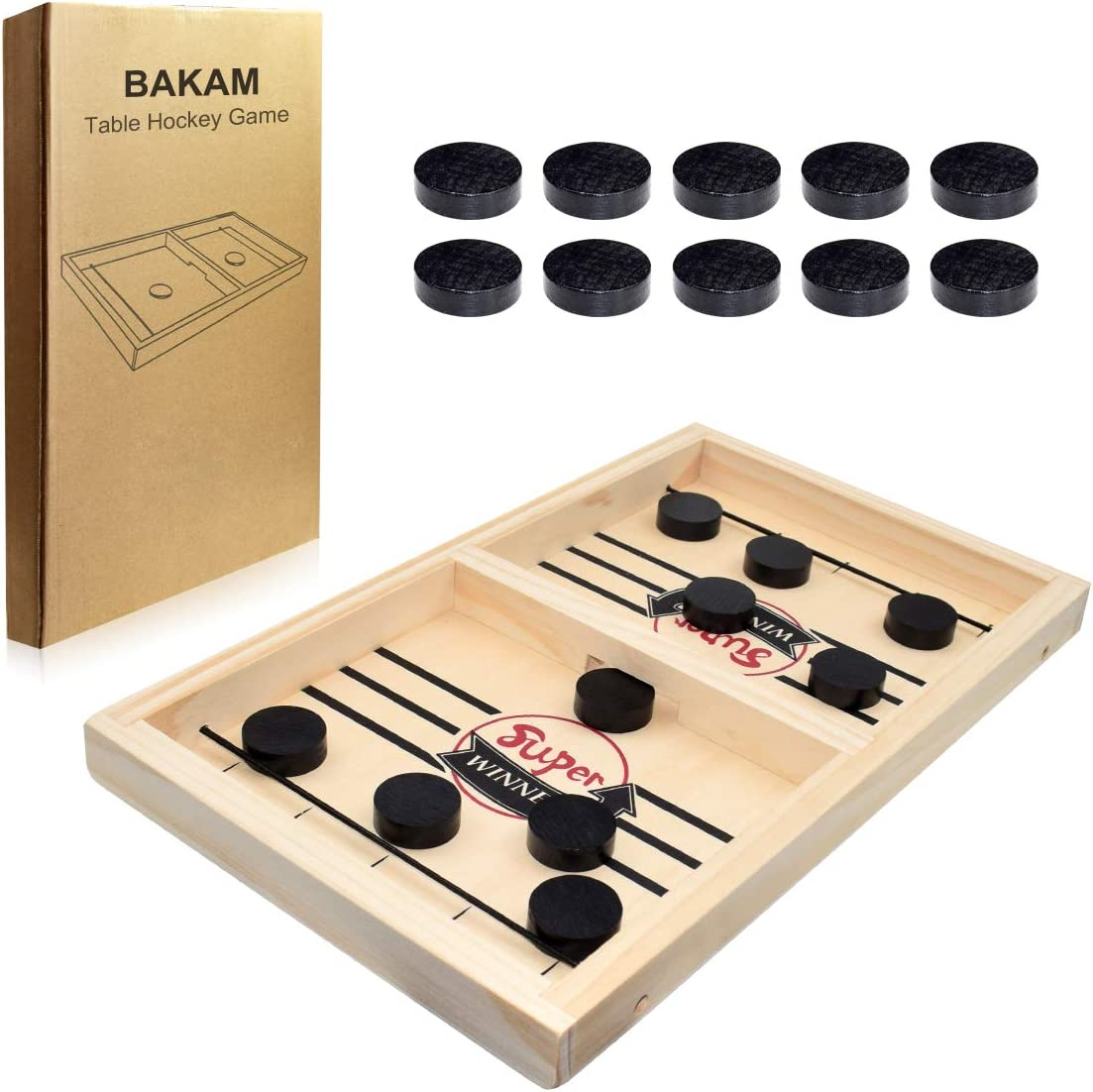 Fast Slingpuck Game Quick Table Hockey Hanging Ball Game Game-HOT Board W2X7