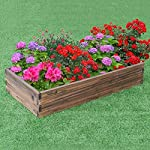 Giantex Raised Garden Bed Wood Outdoor Patio Vegetable Flower Rectangular Planter 12 🌻〖Ample Room for Planting〗- The overall dimension is 47''x24''x9''(LXWXH). This garden bed provides sufficient space for various plants growth like flowers or vegetables. Rectangular form bed which is easy and convenient for you to look after plants well inside it. 🌻〖Simple Assembling Work〗- Screws and assembly manual are included. Accurate and detailed assembling steps are presented in graphic form which is clear and easy to understand. 🌻〖Stable and Long-lasting Frame〗- This garden be is constructed with environmental friendly fir wood that is durable and stable enough to make plants grow healthily.