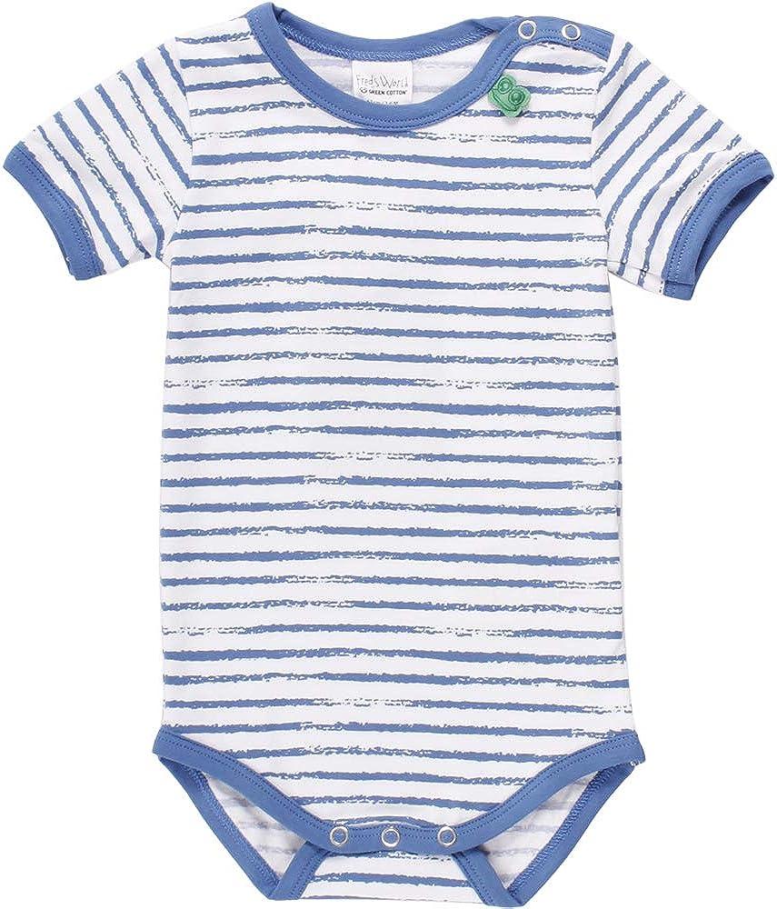 Freds World by Green Cotton Ocean Stripe S//S Body Shaping para Beb/és