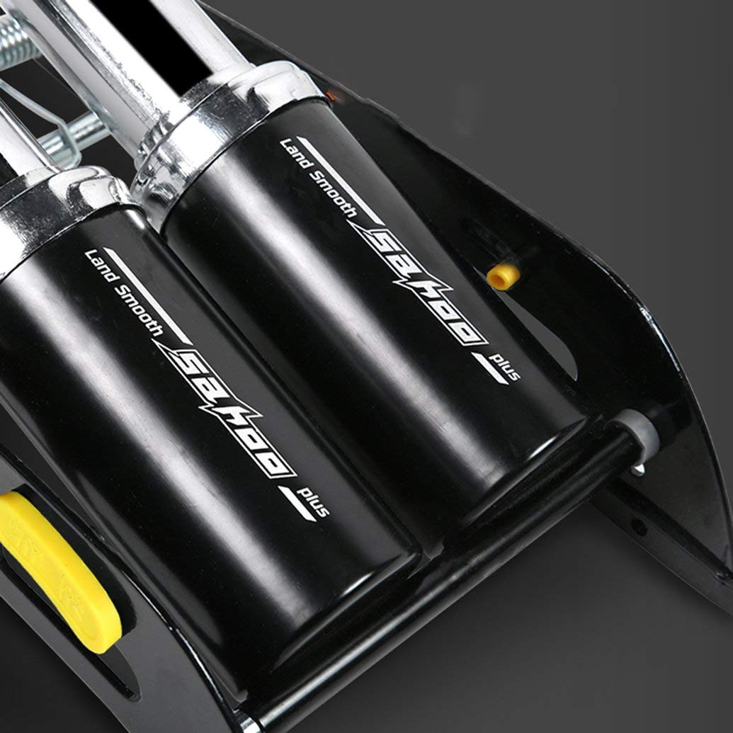 Celerest 311374 Ball Bicycle Electric Car Motorcycle Car Foot Pump Air Pump Cylinder with Gauge High Pressure For Bicycle Car Tire