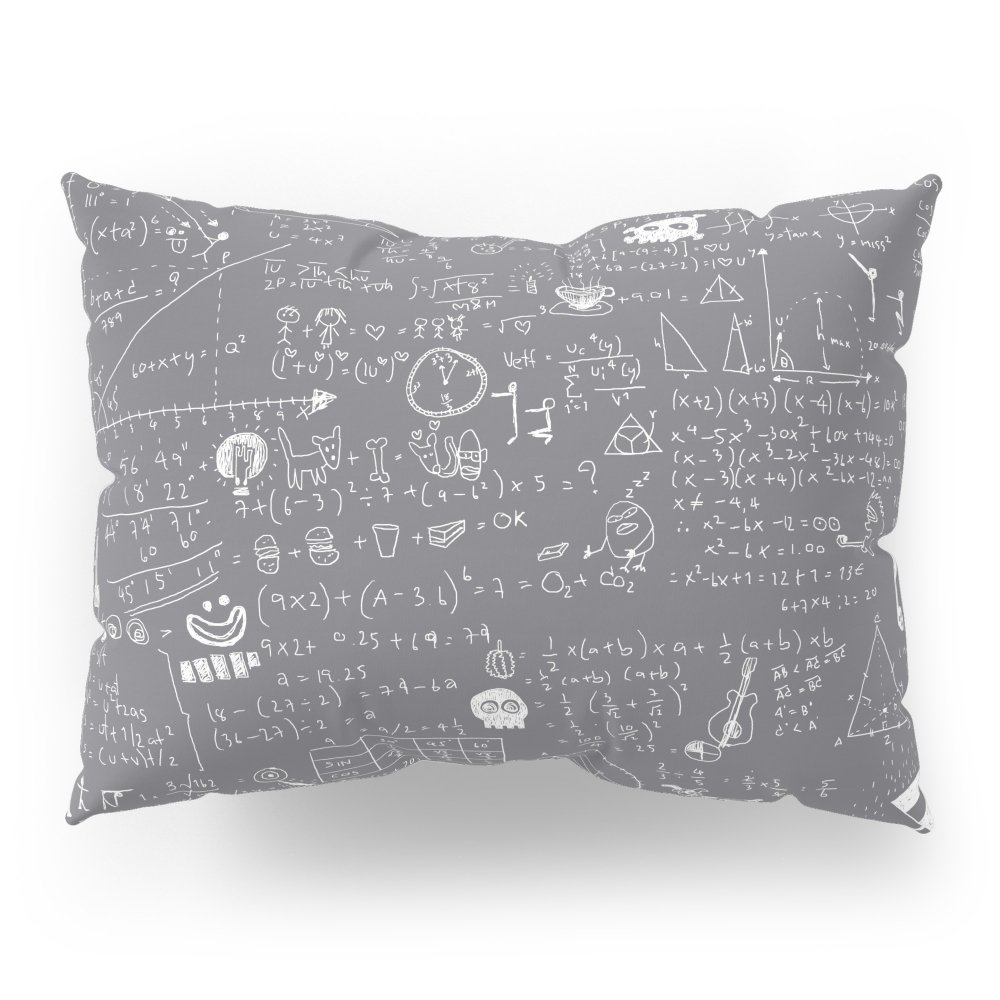Society6 Maths Pillow Sham Standard (20'' x 26'') Set of 2