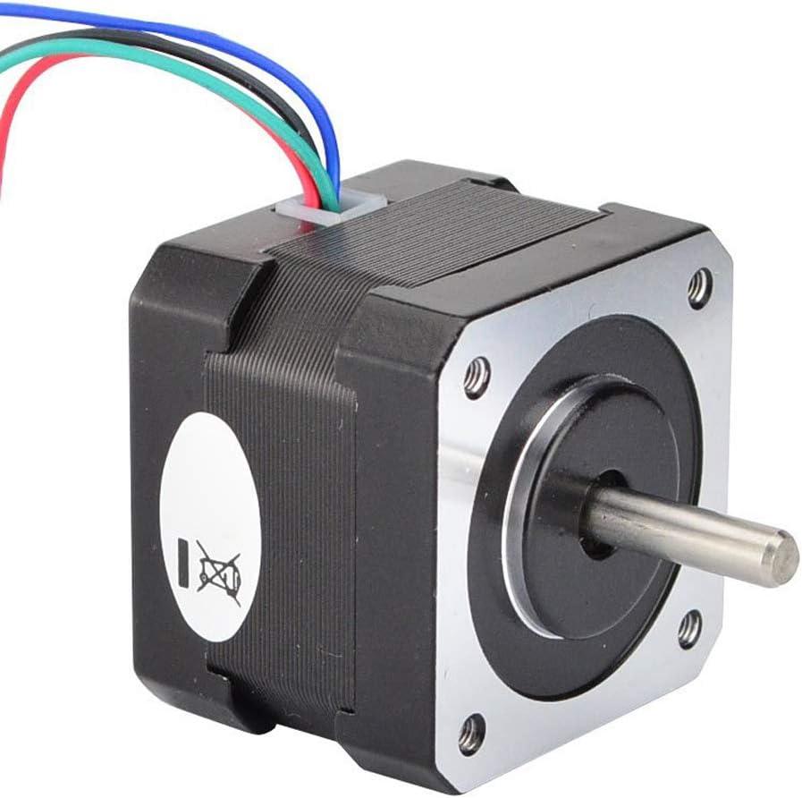 TOOGOO Motor Paso a Paso Nema 17 17HS13-0404S1 Motor Paso a Paso para Impresora 3D DIY CNC Robot