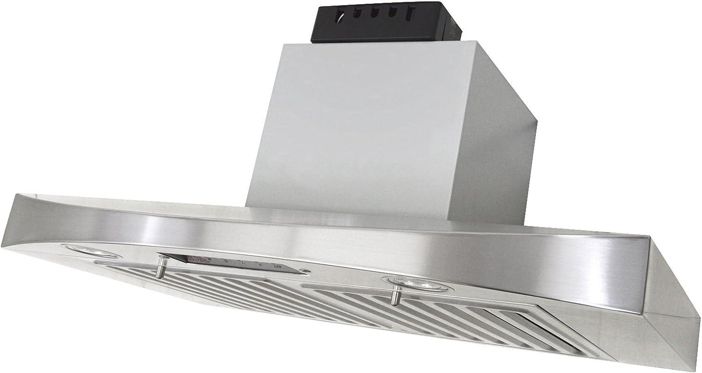 KOBE Range Hoods RA3836SQB-5 Under Cabinet Range Hood, 36-Inch, Stainless steel