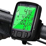 Computer da Bicicletta, Infreecs Contachilometri Bici Wireless Impermeabile con Display Retroilluminat, Tachimetro per MTB Bicicletta Ciclisti