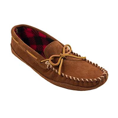 Minnetonka Men's Double Bottom Fleece Slipper | Slippers