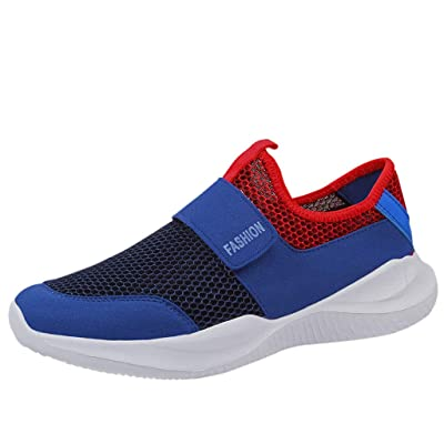 ZSBAYU Mens Trainers Sports Running Shoes Athletic Walking Jogging Gym Sneakers Breathable Casual Mesh Lightweight Wearable Sneaker Running | Shoes