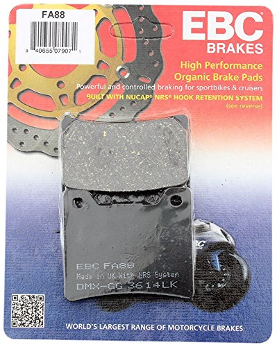 Catalog Yamaha Parts Atv (EBC Brakes FA88 Disc Brake Pad Set)