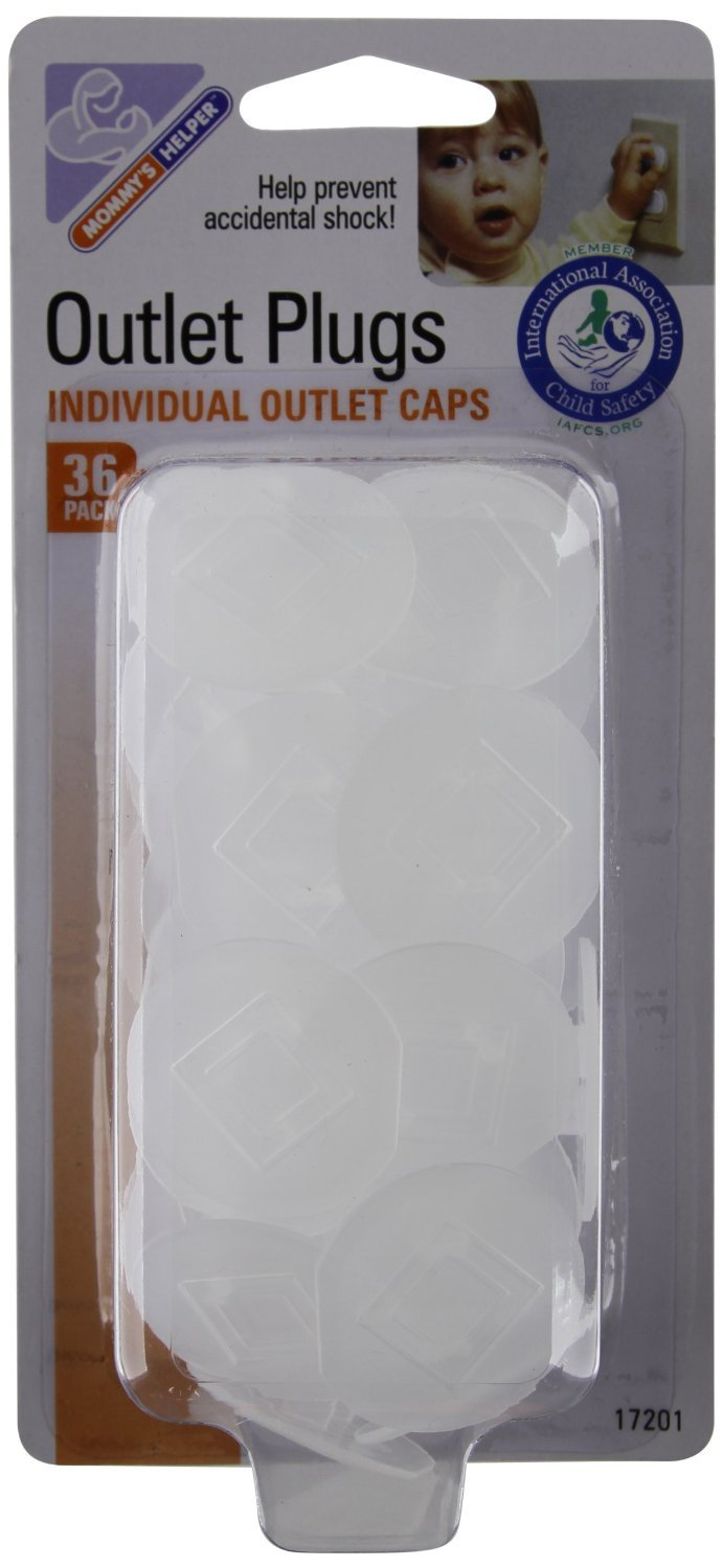 Mommys Helper Outlet Plugs - 4 Packs Of 36 Count = 144 Count