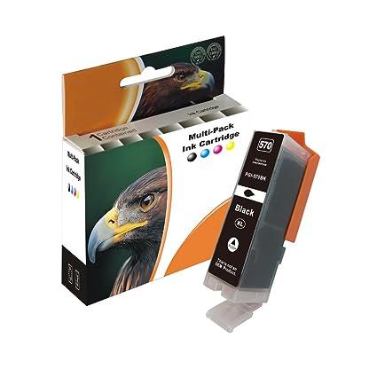 D&C 25ml Black Cartuchos de impresora compatibles para Canon ...