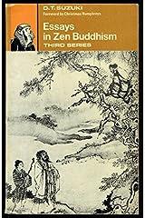 Essays in Zen Buddhism, third series Paperback