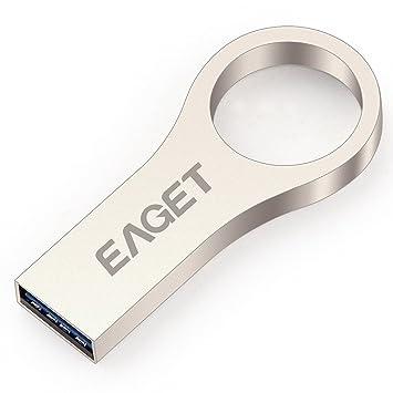 Cle USB Métal Go Forme Clé Mini Anneau Porte Clé Solide Métal - Porte clé usb