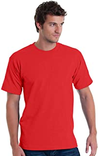 product image for Bayside Adult Basic Tee (BA5040) RED