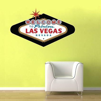 Amazon.com: Welcome to Fabulous Las Vegas Sign Classic - Room Décor ...
