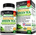 Premium Decaffeinated Natural Green Tea Capsules for Natural Energy Without Jitters - for Metabolism & Weight Loss Support - Promotes Heart Health - Supplement for Healthy Immune System Support