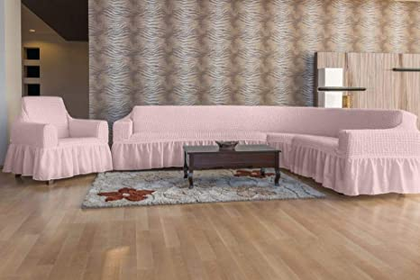 Mixibaby - Funda de sofá Esquina para sillón, Juego de 2 ...