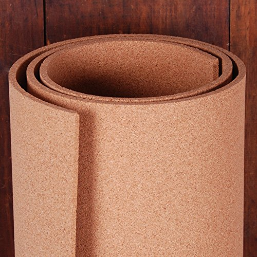 Manton Cork Roll, 100% Natural, 4' x 6' x (Cork Flooring Glue)