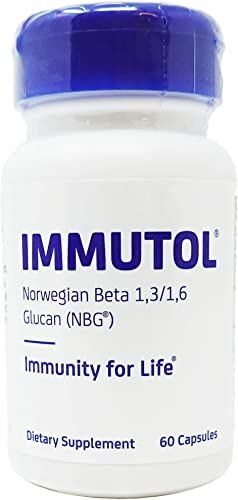 Immutol Norwegian Beta-1,3 1,6-Glucan Optimal Immune System Support, 60 Softgels