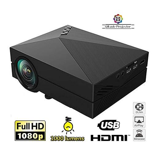 QILade Projector Mini proyector Pico LED de 130