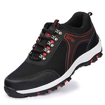 YSJD Zapatos de Seguridad, Zapatos de Senderismo Cabeza de ...