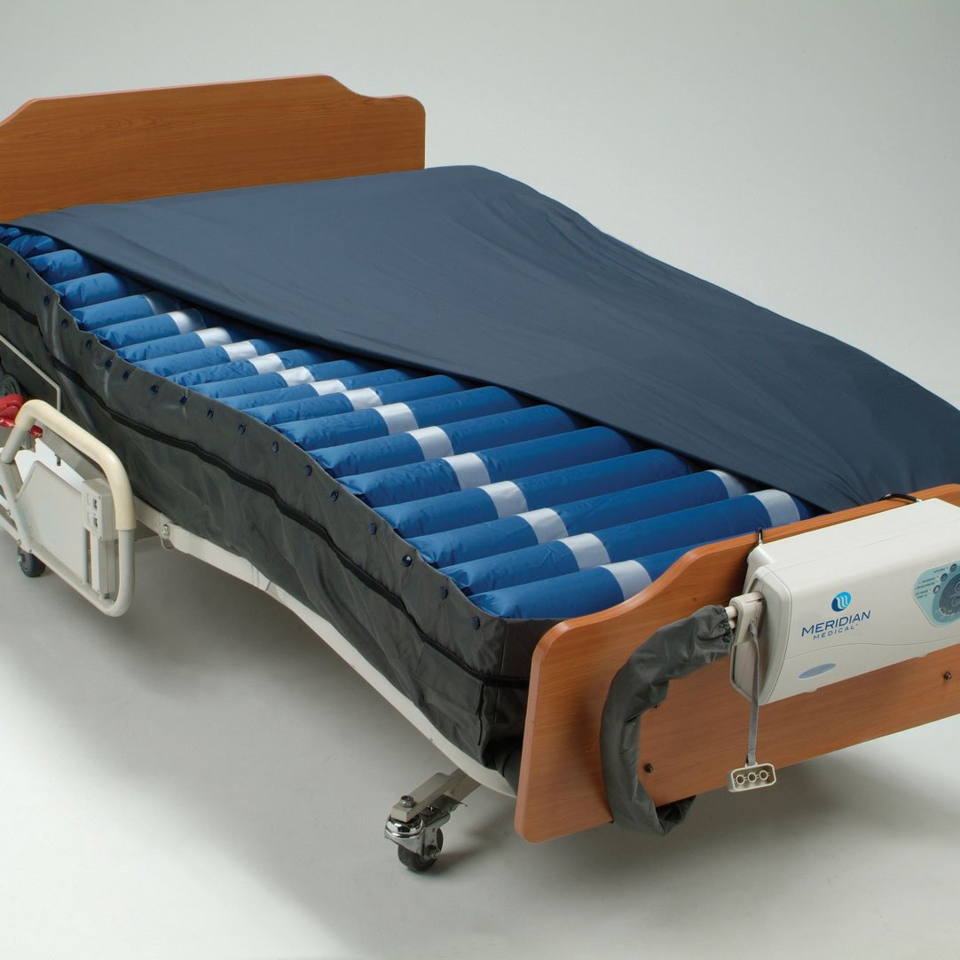 Meridian Bariatric Ultra-Care Perimeter Plus Includes Mattress, Cover and 16 LPM pump - CM