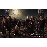 NeuHorris 019 The Vampire Diaries Season 5 Silk Poster Aka Wallpaper Wall Decor by 22x14 inch