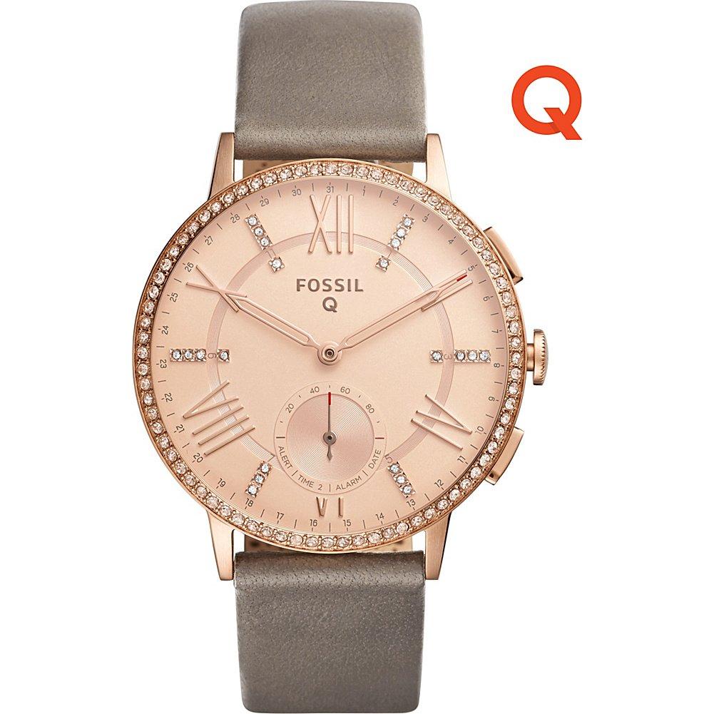 Fossil Q Gazer Leather Hybrid Smartwatch