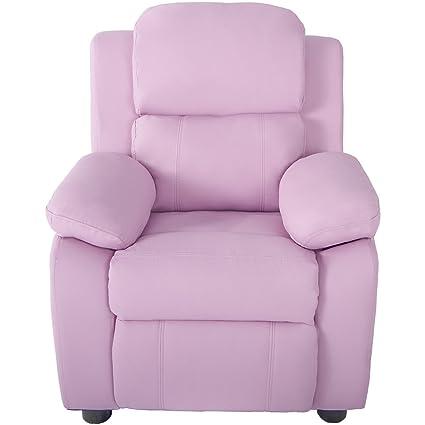 Sillón reclinable para niños con brazo reclinable y funda de ...