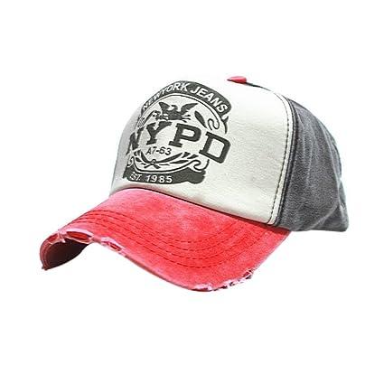 62dec84a367f9 Bobury Casquillo cabido del Sombrero de Hip Hop del Camionero Gorras De  Camionero Gorras Unisex del