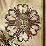 Design Toscano Dance of the Sun Metal Wall Sculpture in Multi-Toned Weathered