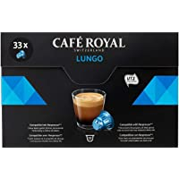 Café Royal Lungo 33 Capsules Compatibles avec le Système Nespresso*, Intensité 4/10