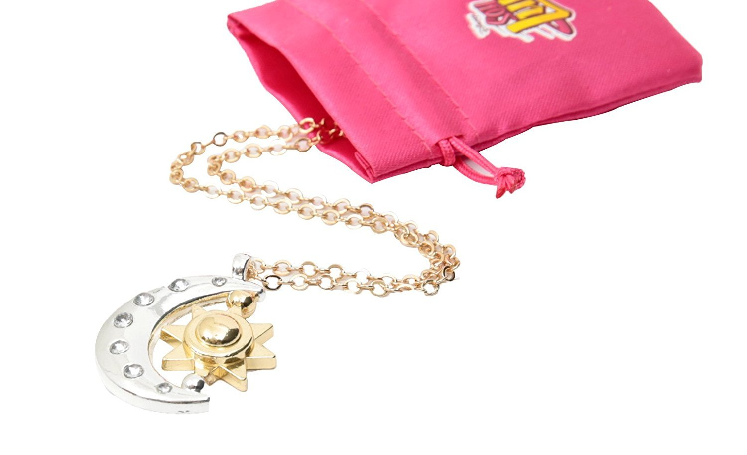 Soy Luna necklace with moon shaped pendant by Soy Luna (Image #1)