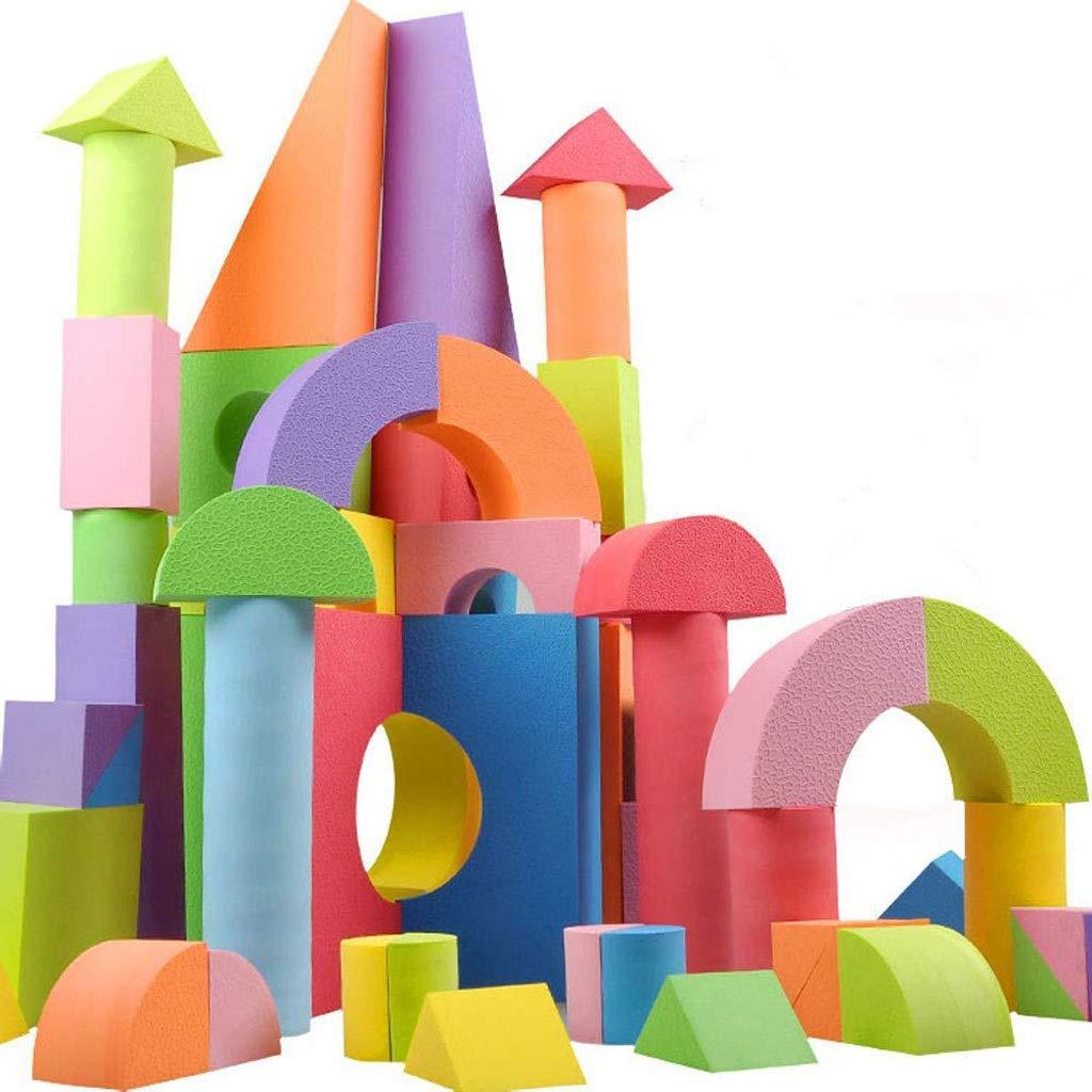 上品 WSJTT 巨大な発泡ブロック、子供の教育玩具、建設玩具のための理想的なビルディングブロック 12ヶ月+、防水、安全 WSJTT、無毒[子供向け50ブロックビルディング玩具浴槽] 12ヶ月+ B07NPRG4ZV, pupi et mimi:fbd8e340 --- svecha37.ru