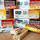 #6: Novo Nutrition protein Wafer, 38 g, Chocolate, Pack of 12