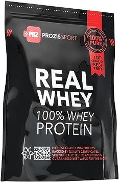 Prozis Sport 100% Real Whey Protein, Suplemento de Proteínas, Sabor a Chocolate - 625 gramos
