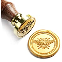 UNIQOOO Arts & Crafts Little Bee Wax Seal Stamp-Great for Embellishment of Envelopes, Invitations, Wine Packages, etc…
