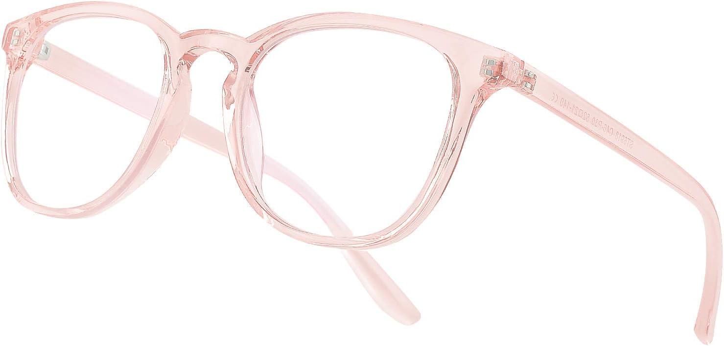 Vimbloom Gafas Ordenador Gaming UV Luz Filtro Proteccion Azul Mujer Hombre Para Antifatiga Gafas Luz Azul VI387 (Rosado)