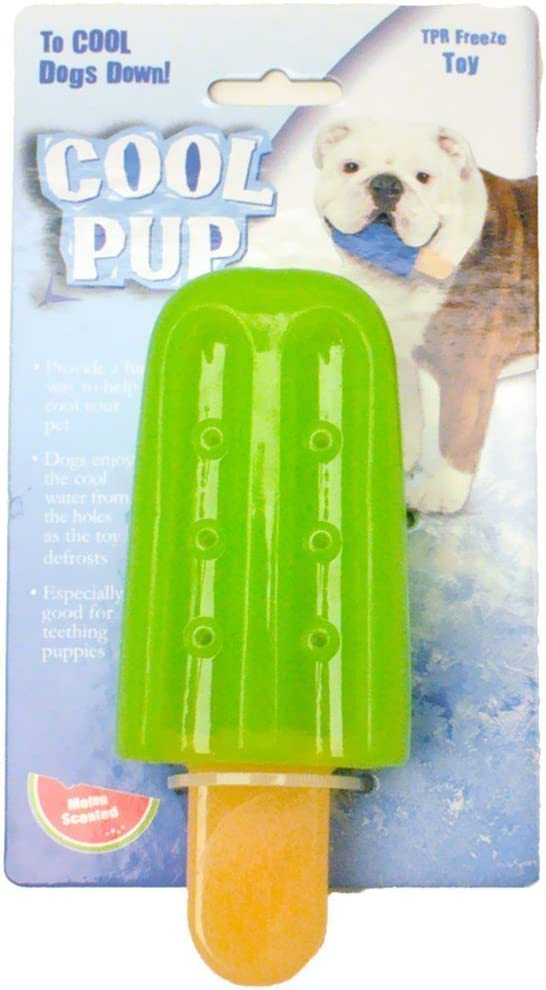 Cool Pup Cooling Toy (Popsicle, Green)