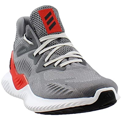 9b4aa349c Image Unavailable. Image not available for. Color  adidas Alphabounce Beyond  M (Grey Red) ...