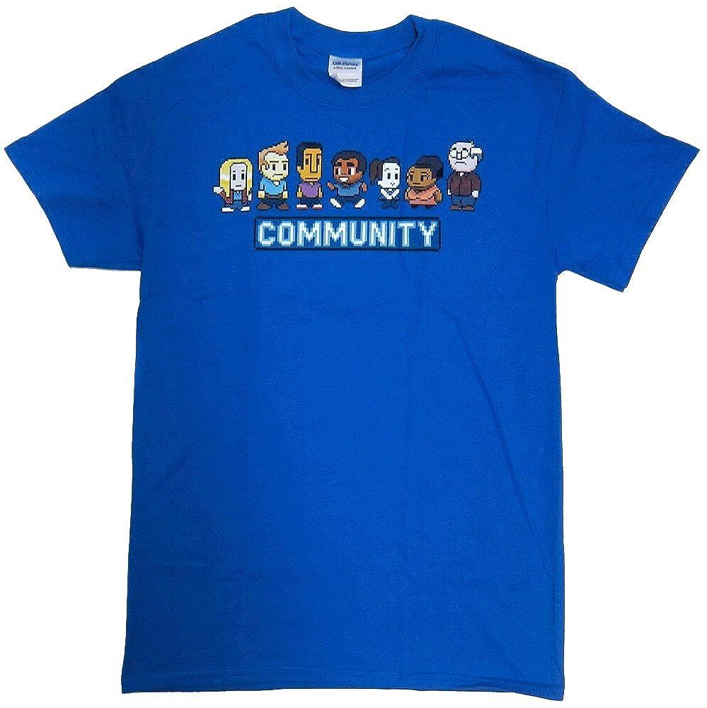 T-Line Men s Community 8 Bit Men s T-Shirt  aee6d0538352