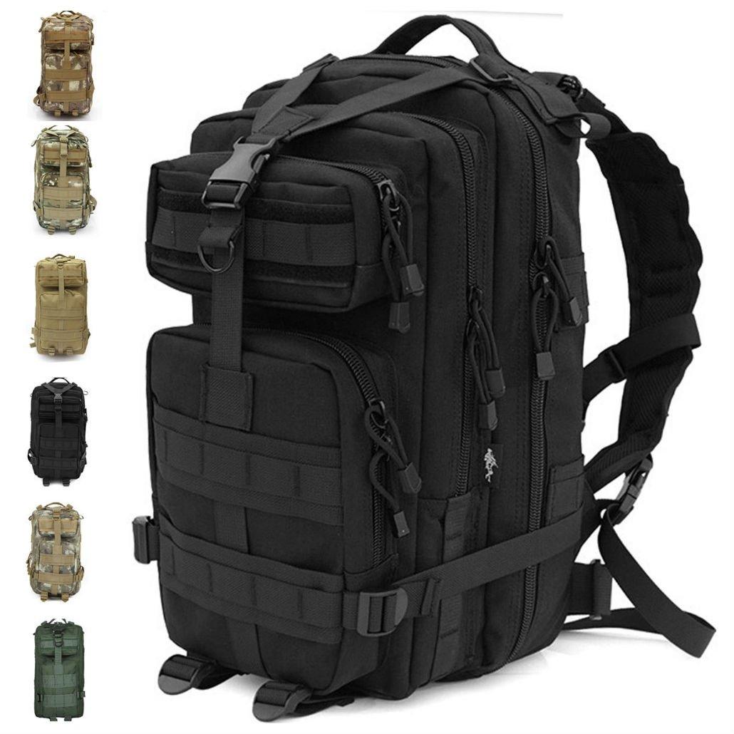 30lアウトドアMilitary Rucksacks Tacticalバックパックキャンプハイキングトレッキングバッグ   B075141XDD