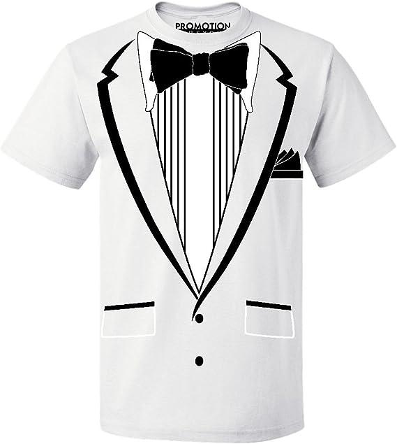 Promotion & Beyond Tuxedo (Black) with Pocket Square Ceremony Men's T-Shirt