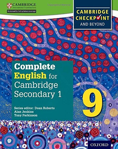 Complete English for Cambridge Secondary 1 Student Book 9: For Cambridge Checkpoint and beyond by Tony Parkinson (2016-04-07)