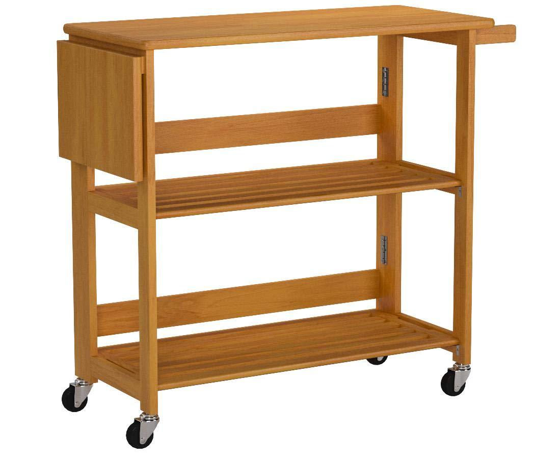 Winsome 34137 Radley Kitchen Cart, Light Oak by Winsome